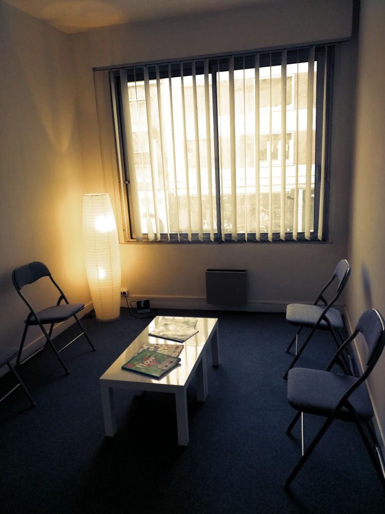 Espace salle d'attente de Margot Duvauchelle - Psychologue sur Amiens
