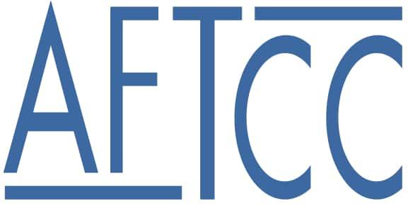 Logo de l'AFTCC, association française de thérapie comportementale et cognitive, luttant pour l'accès au soin pour tous et le remboursement des thérapies psychologiques.